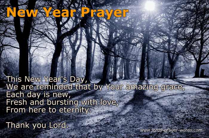 5 Inspiring New Year Prayers - Start 2018 with HOPE!