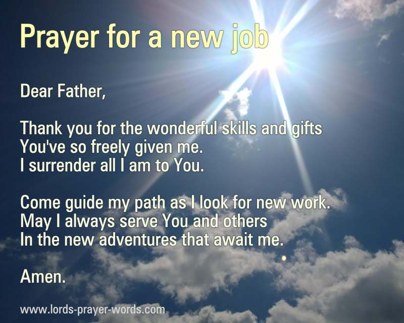 4 Prayers for a Job Interview - for success & blessings!