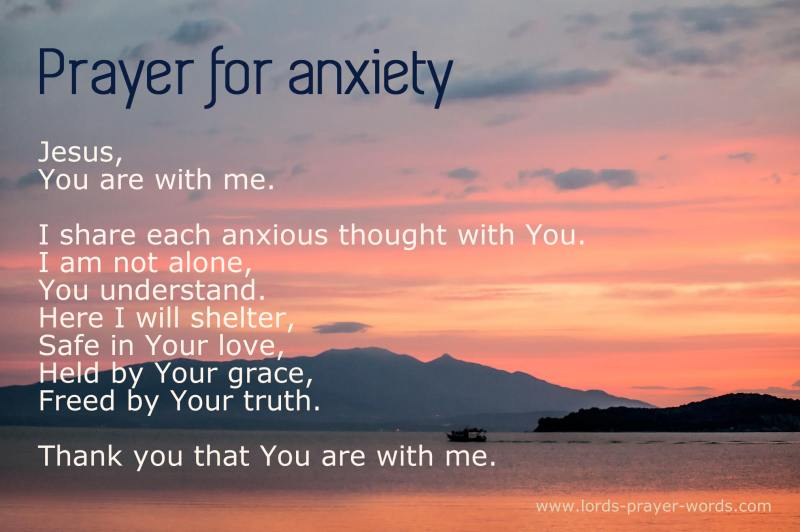 3 Prayers for Depression and Anxiety