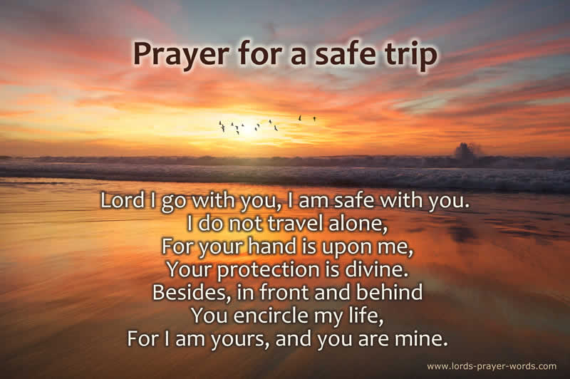 a prayer for a safe journey