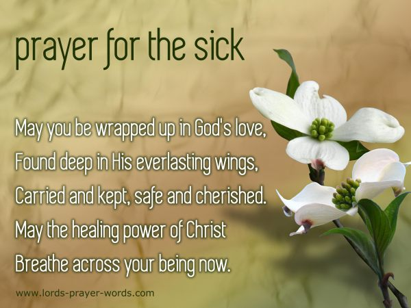 prayer for healing the sick