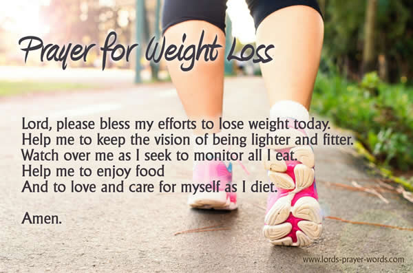 3 Prayers for Weight Loss