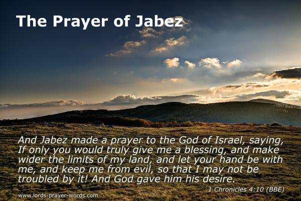 image relating to The Lord's Prayer Kjv Printable titled Prayer of Jabez pdf Bible Investigation